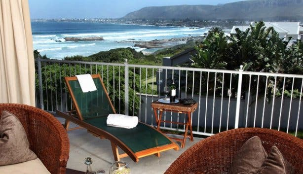 Hermanus Beach Villa Balcony View