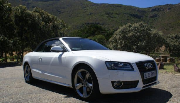Audi A5 Care Hire in Cape Town