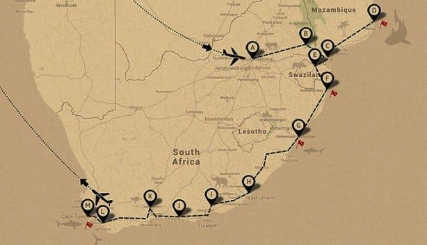 Duiken Zuid-Afrika