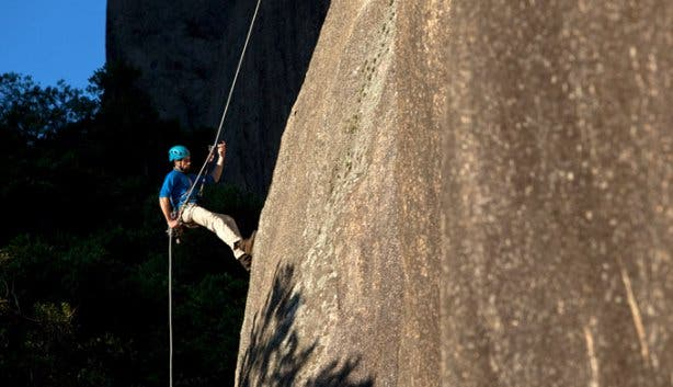 Abseiling Tours at Paarl Rock