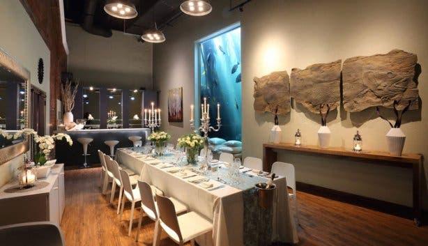 2 oceans aquarium tranquility dinner