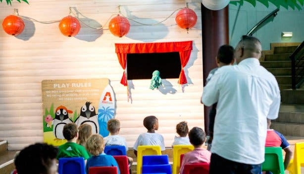 Vista Parties Aquarium Puppet Show