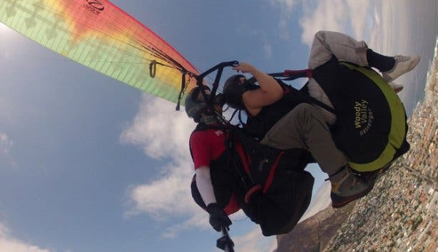 Tandem Paragliding with Para Taxi