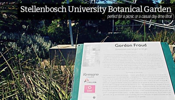 Discover Stellenbosch Stellenbosch University Botanical Garden