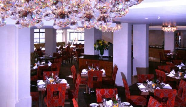 Restaurant at Strand Towers Hotel in Cape Town