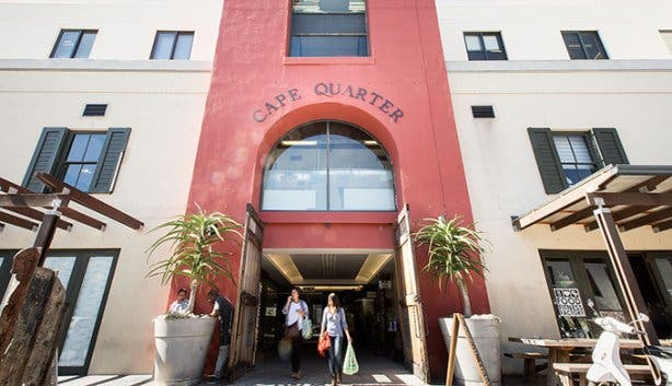 Cape Quarter Entrance