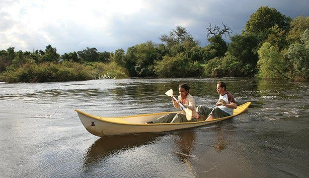 Canoeing at the Bontebok National Park