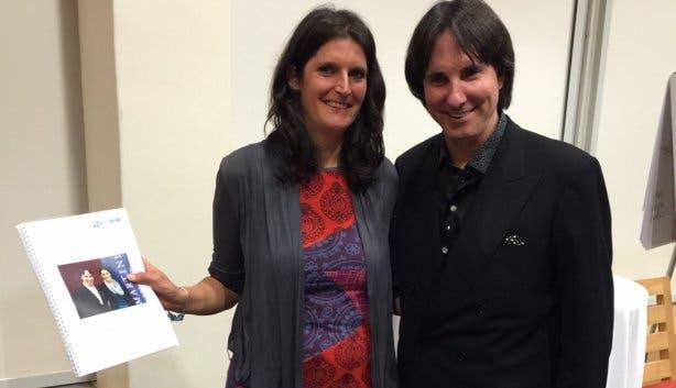 Jenny Doll Coach Kapstadt mit Dr Demartini