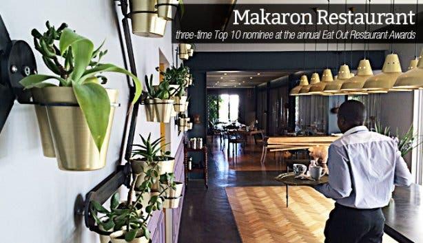 Makaron Restaurant in Stellenbosch
