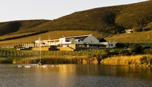 De Grendel wine farm in Durbanville