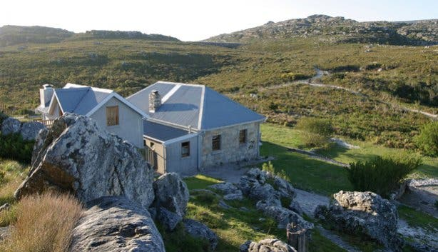 SANParks Overseers Cottage on Table Mountain