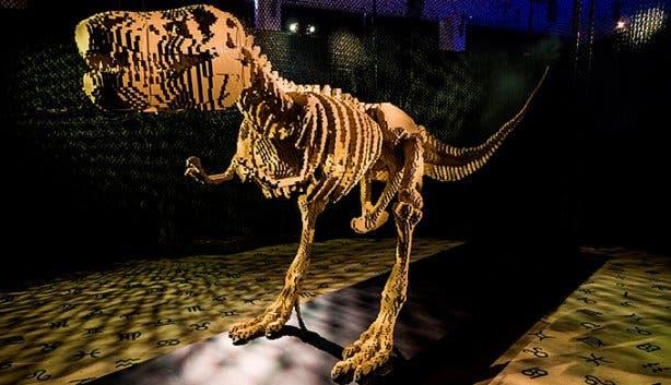 Art of the Brick Lego Exhibition Cape Town T-Rex
