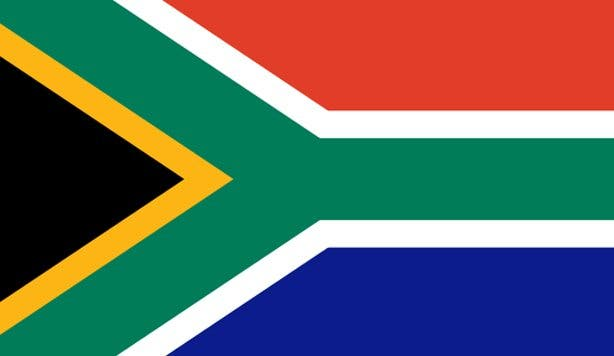 Flag of South Africa 2