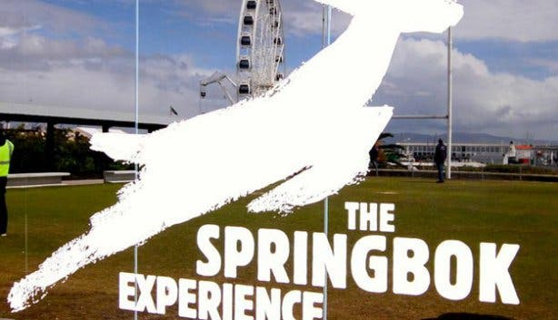The Springbok Experience Rugby Museum Logo