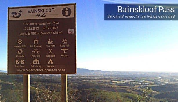 Discover Wellington Bainskloof Pass