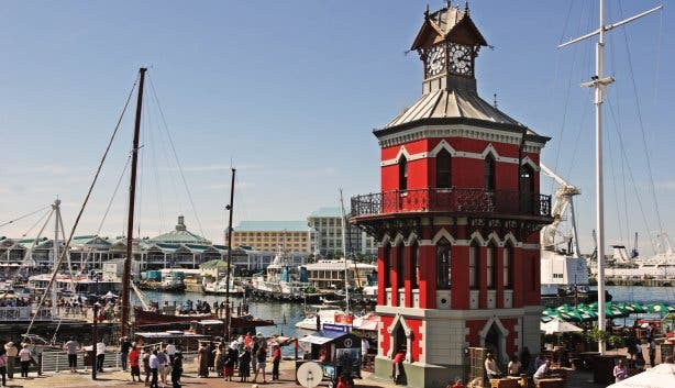 Clock Tower V&A Waterfront