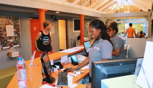 Never@Home Hostel Reception Cape Town