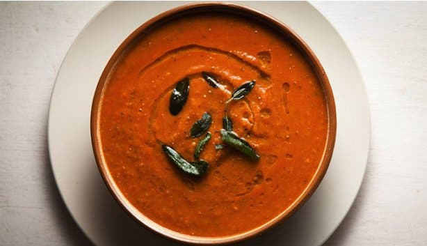 The Larder Cafe soup