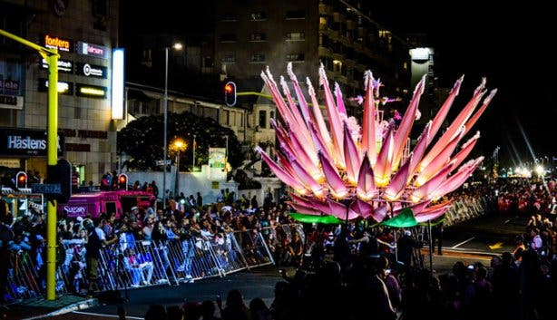 Cape Town Carnival Elemental Parade 2015