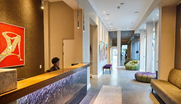 Cloud 9 Boutique Hotel & Spa Reception