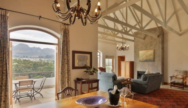 Suite at Kleine Zalze Lodge Cape Town
