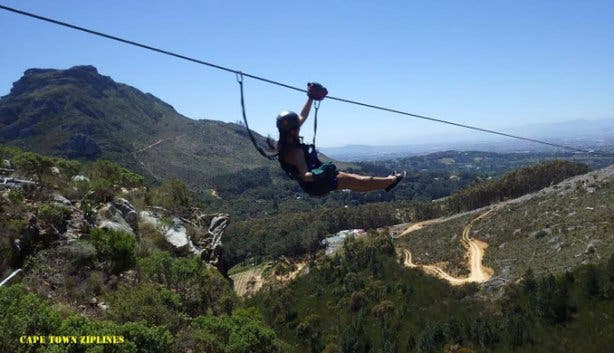 SA Forest Adventures Zip Line Tour Cape Town