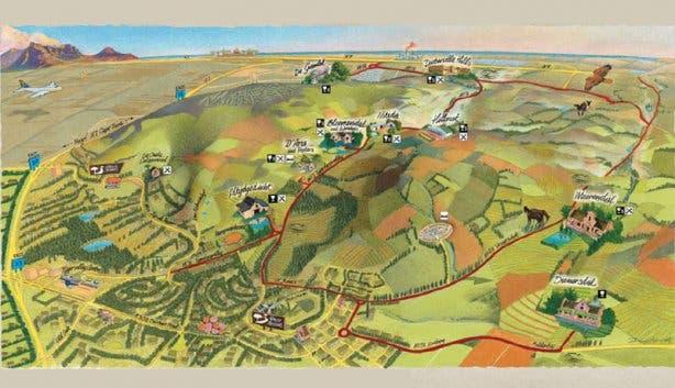 Durbanville Wine Valley Map