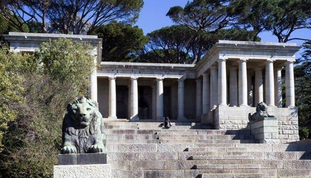Rhodes Memorial by Joshua Oates