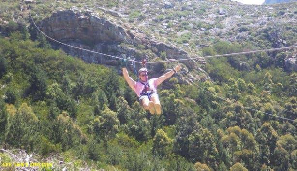 Cape Town Zipline Tours Constantia Nek