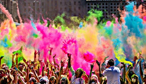 cape town we are one holi festival