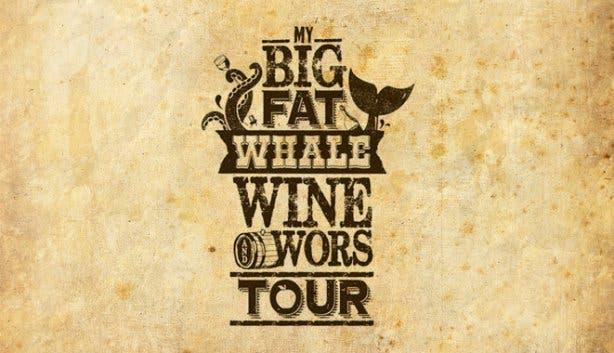 whale wine and wors wine flies logo