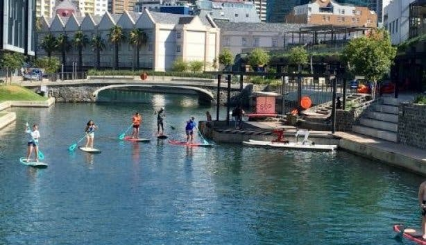SUP Cape Town things to do at the waterfront