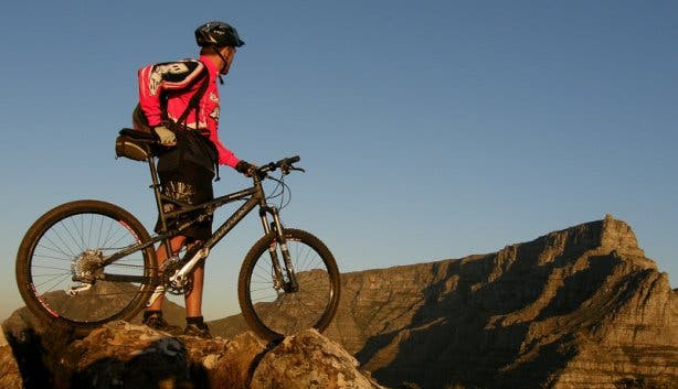 mountain biken kaapstad