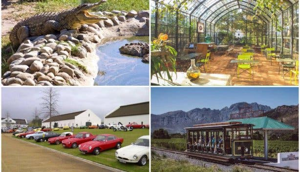 collage things to do franschhoek