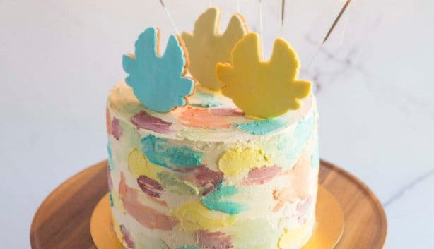 Wonderdal Amuki birthday cake