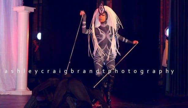 Manila von Teez drag queen show Artscape Theatre