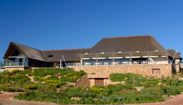 Glen Carlou tasting room and cellar in Paarl