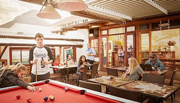 The Backpack Backpackers Pool Tables