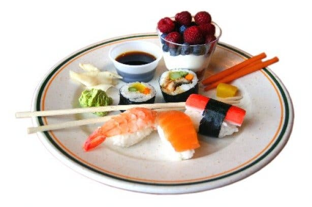 best of CT - sushi