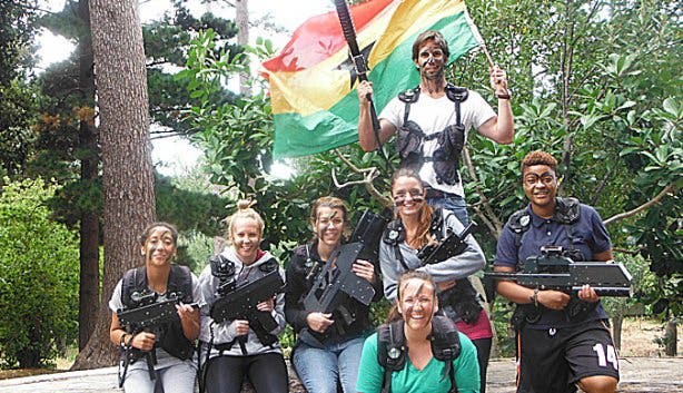 Battlefield Live SA Laser Tag Corporate Events Cape Town