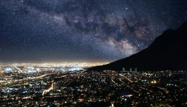 Stunning images show Cape Town without any light pollution