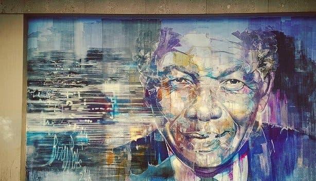 Mandela image by Brian Rolfe.