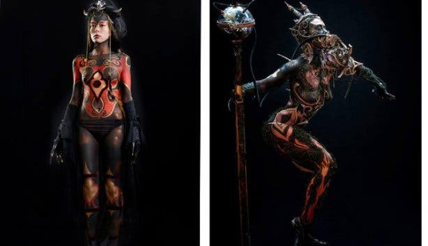 10 Questions for Megan Wylie Body Painting