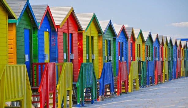 St James and Muizenberg Bath Houses Western Cape
