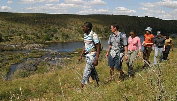 Hiking at Bontebok National Park South Africa