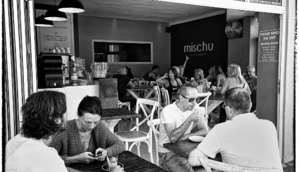 mischu coffee showroom in sea point cape town