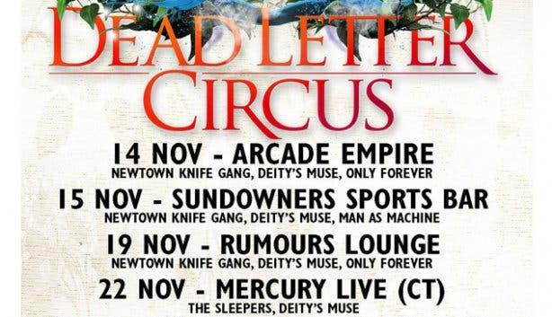 Dead Letter Circus at Mercury 1