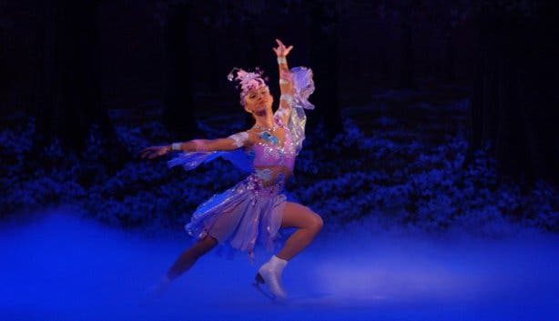 Sleeping Beauty on Ice Artscape