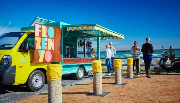 FrozenYo Food Truck in Cape Town