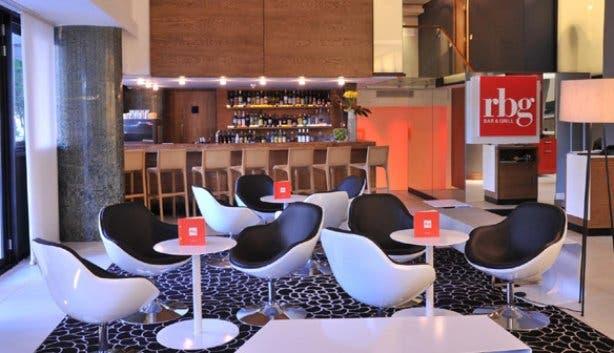 RBG bar area at Park Inn Foreshore Cape Town